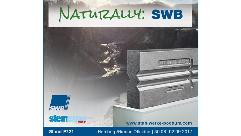 Stahlwerke Bochum GmbH auf der steinexpo 2017 - Prallzerkleinerung