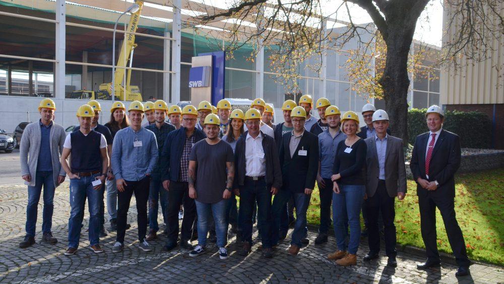 BDSV-Seminar Stahlrecycling bei der Stahlwerke Bochum GmbH, Gruppenfoto 16.10.2017