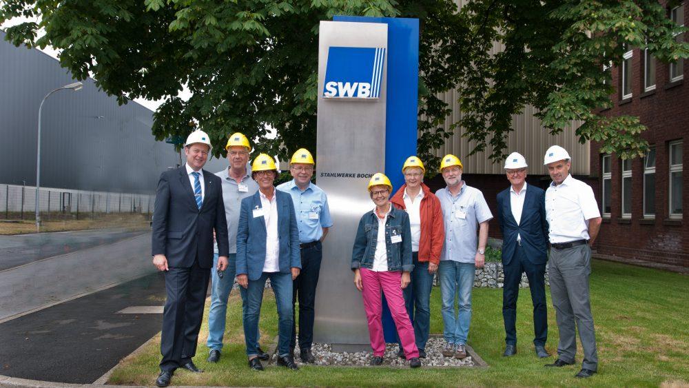 AGV Stahl zu Gast bei SWB