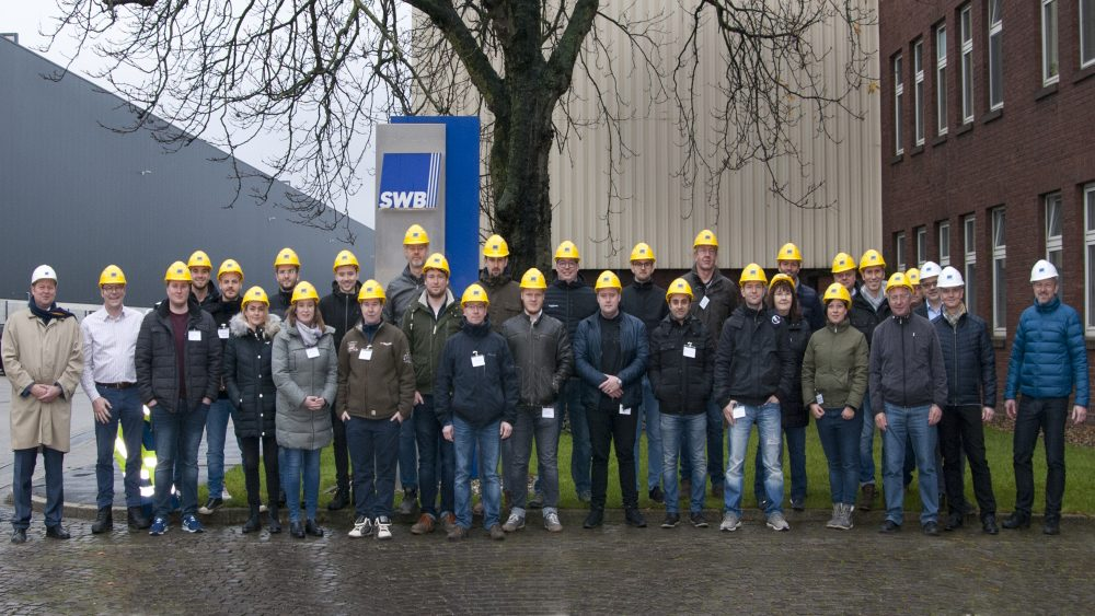 Weiterbildung Schrott- und Metallrecycling, Seminar Stahlrecycling, Gruppenfoto