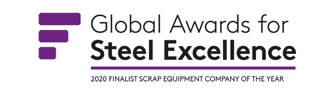 scrap equipment provider of the year - logo for finalist of global award of steel excellence 2020